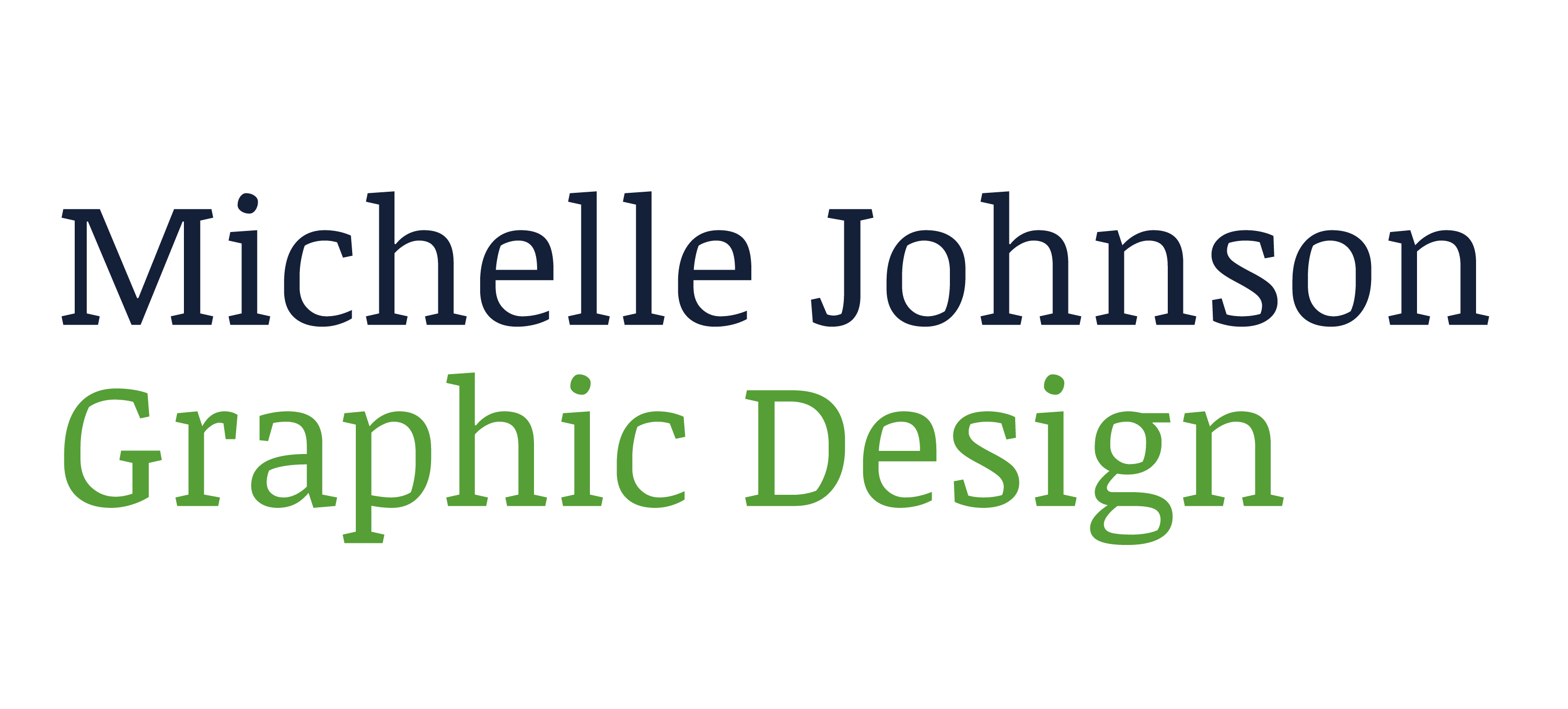 Michelle Johnson Graphic Design